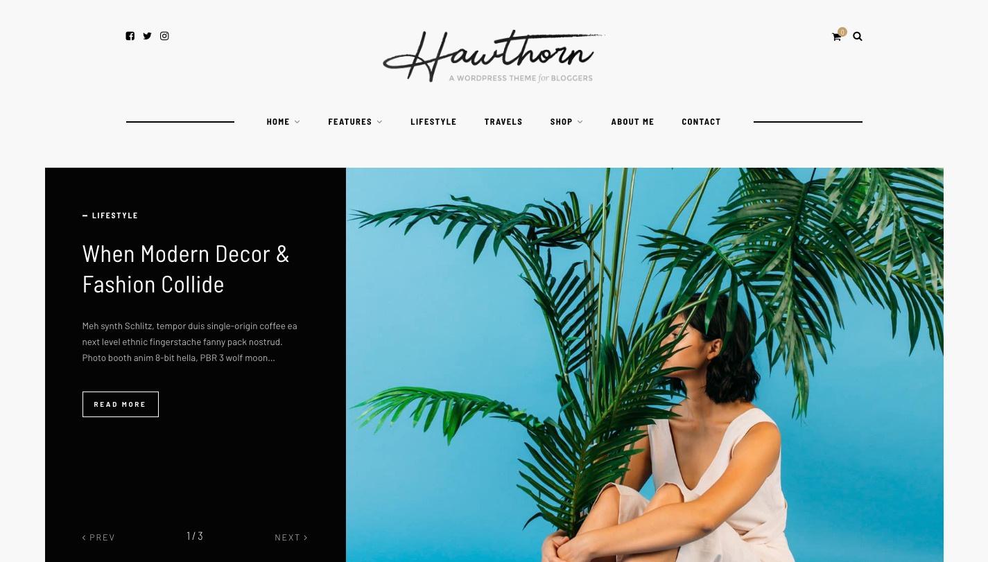 Hawthorn WordPress Theme