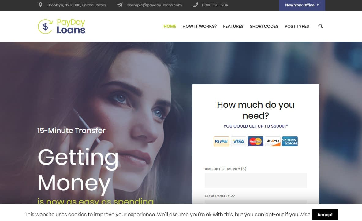 PayDay WordPress Theme