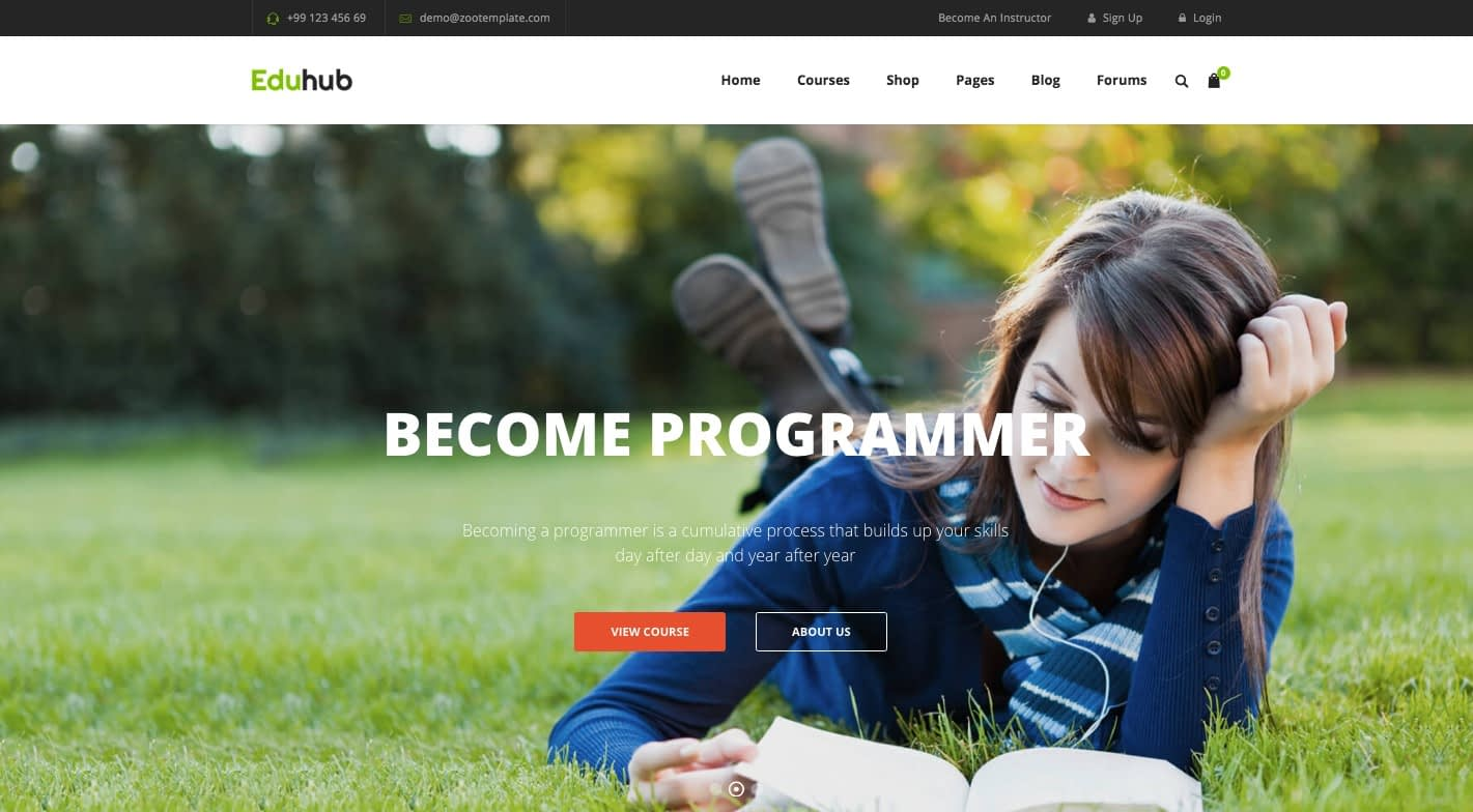 Eduhub WordPress Theme