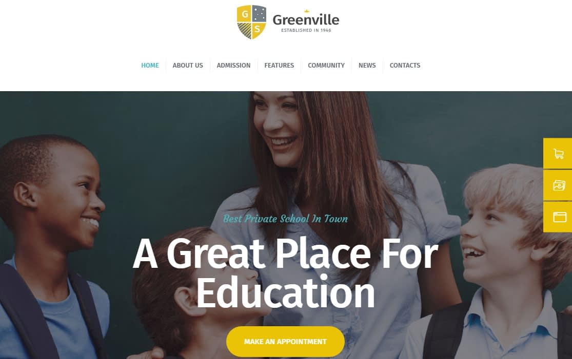 Greenville WordPress Theme