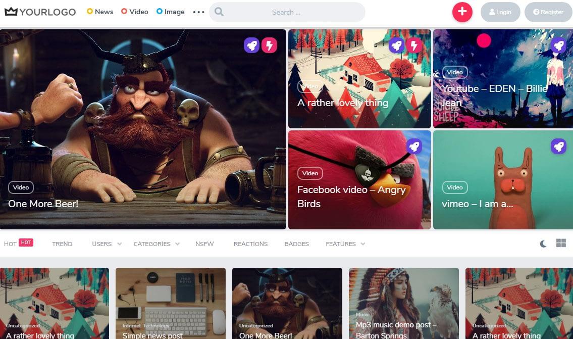 King WordPress Theme
