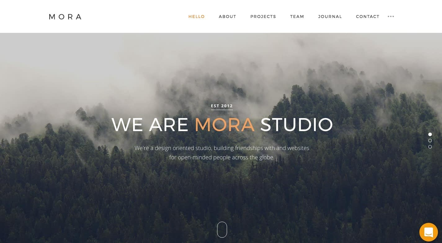 Mora WordPress Theme