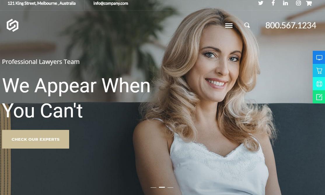 Oconnor WordPress Theme