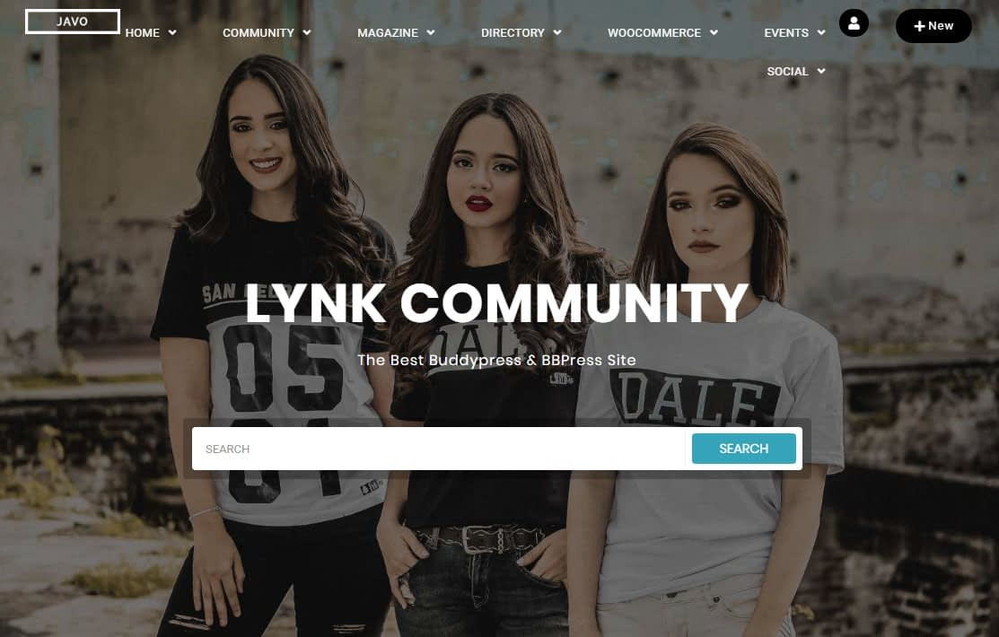 Lynk WordPress Theme