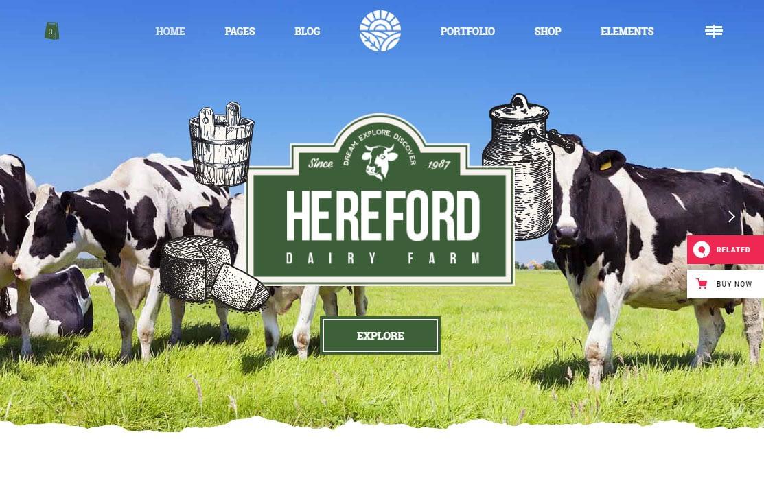 Hereford WordPress Theme