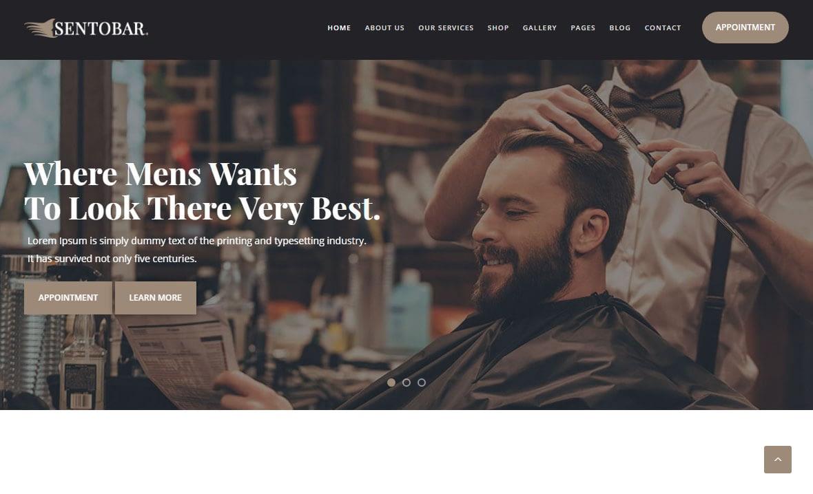 Sentobar WordPress Theme