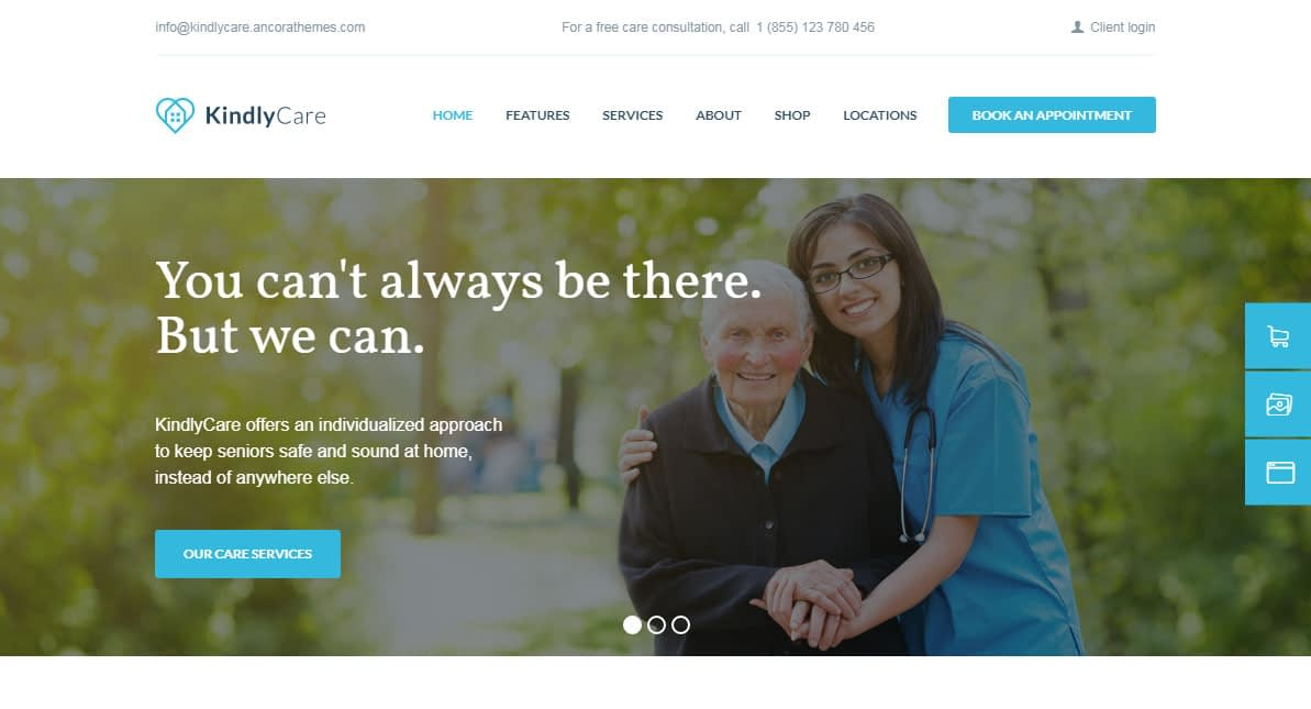 KindlyCare WordPress Theme