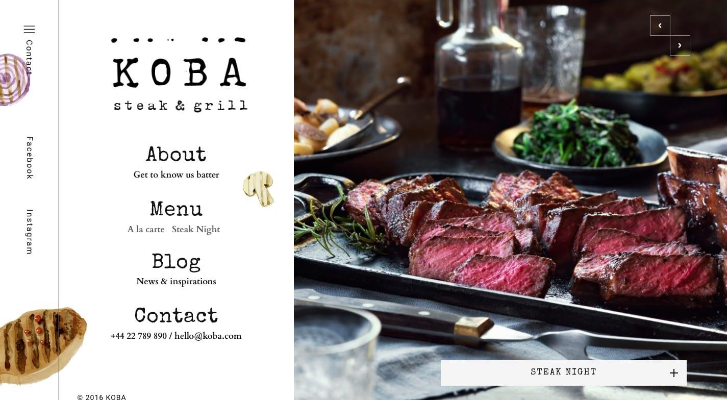 KOBA WordPress Theme