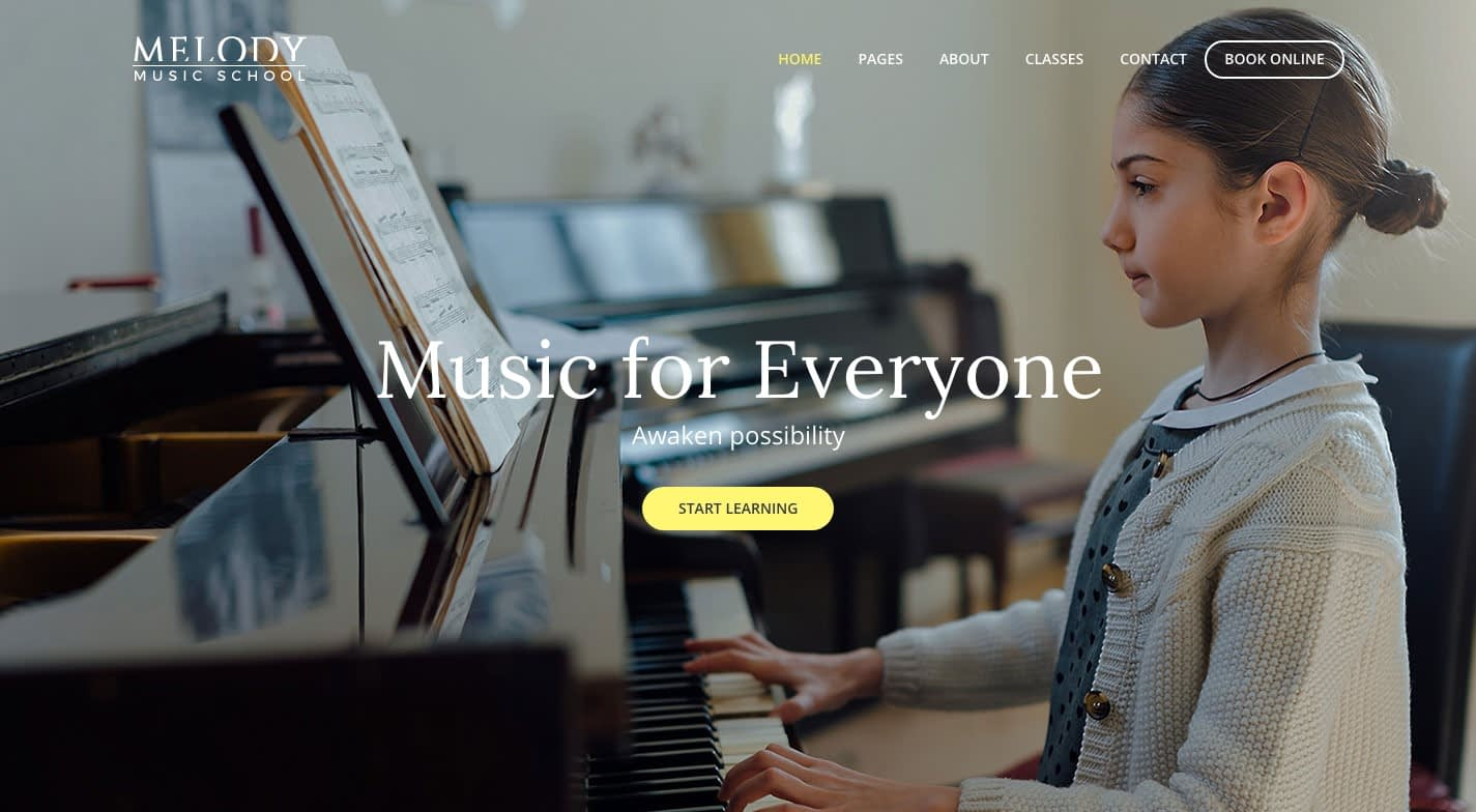 Melody WordPress Theme
