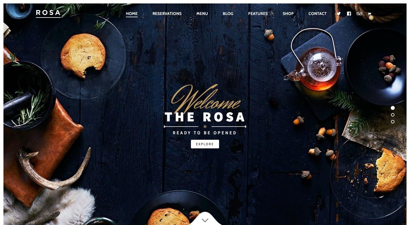 ROSA WordPress Theme