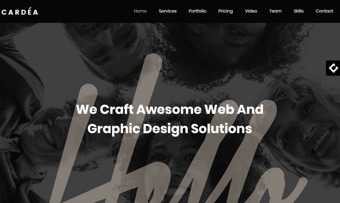 Cardea WordPress Theme