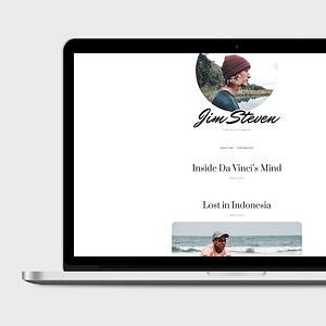 steven free WordPress theme