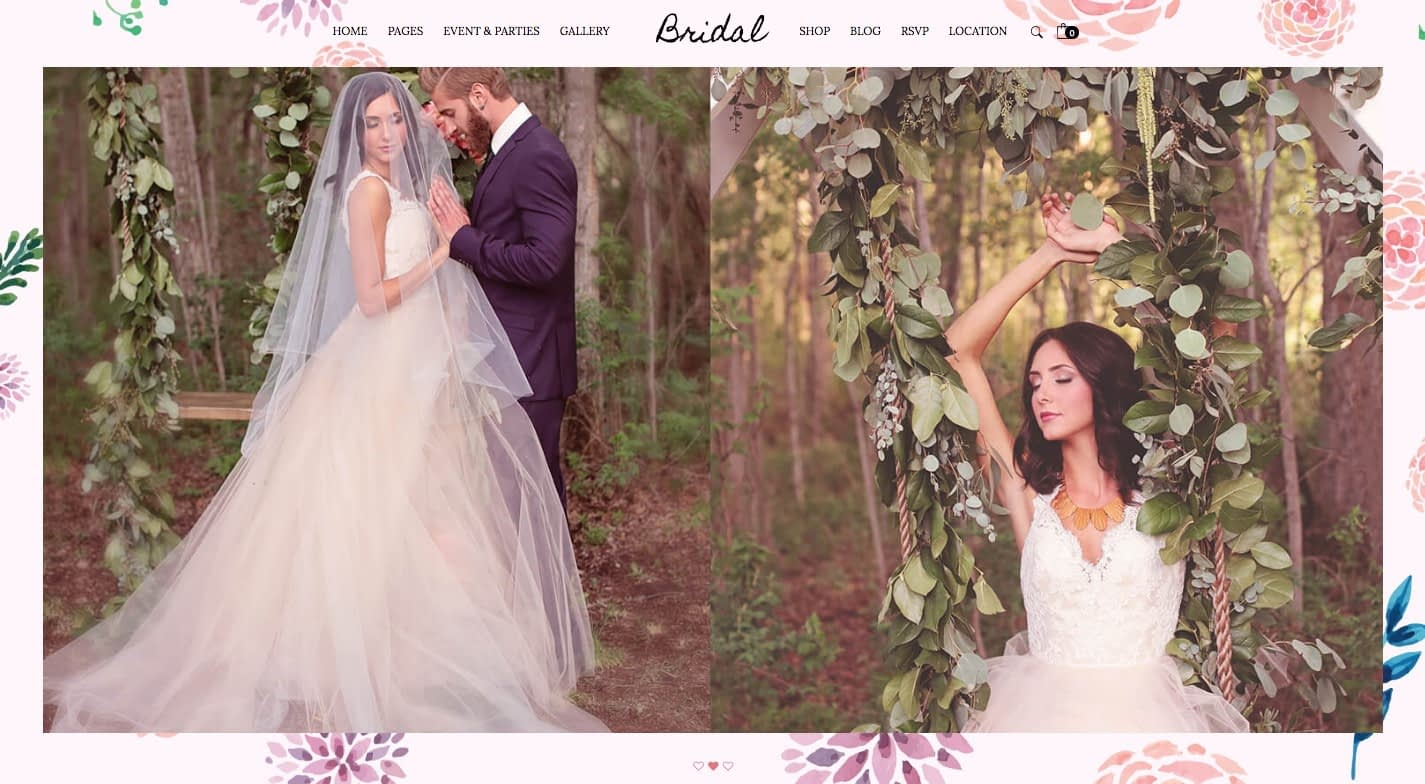 Bridal WordPress Theme