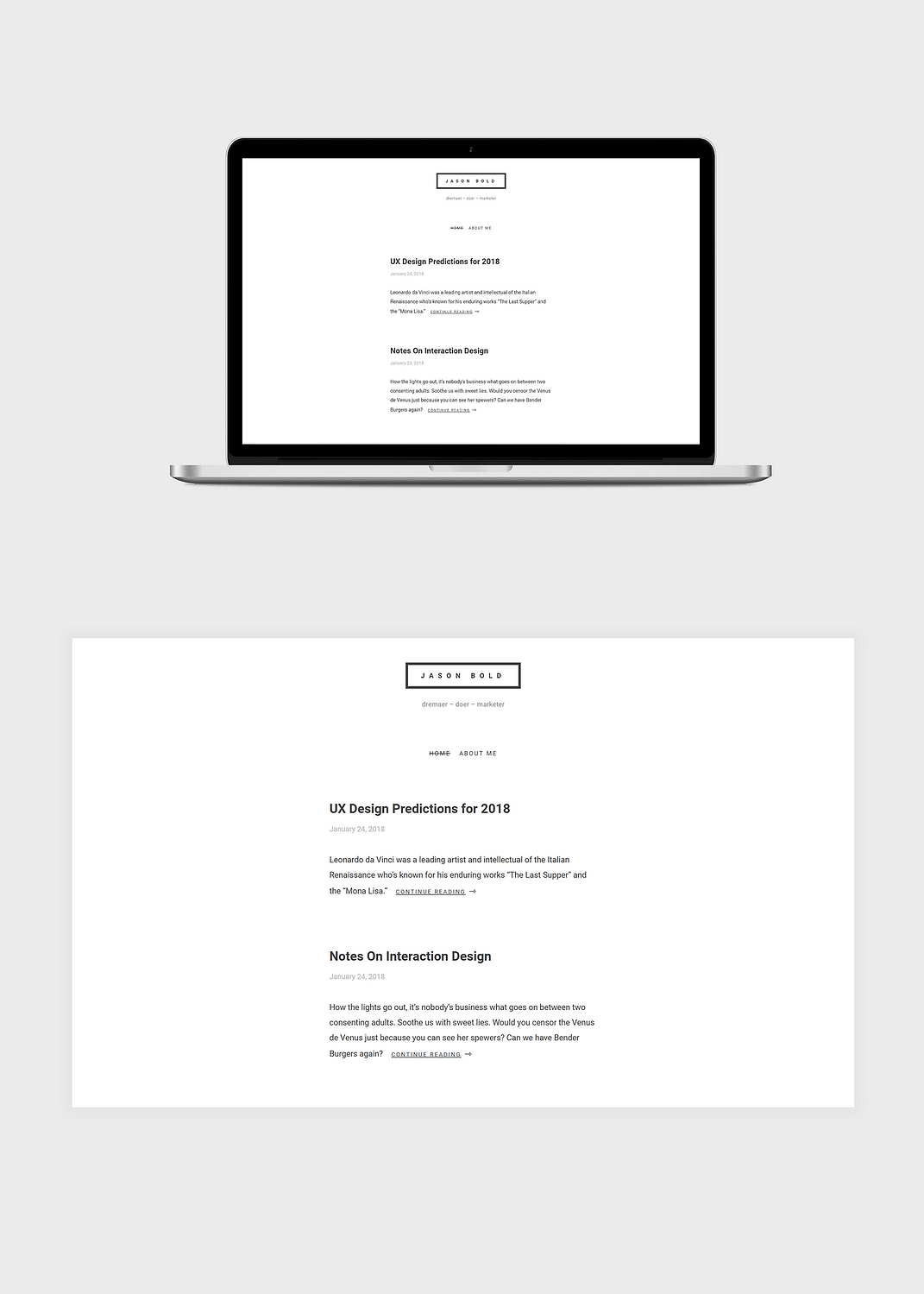 simplll free wordpress theme