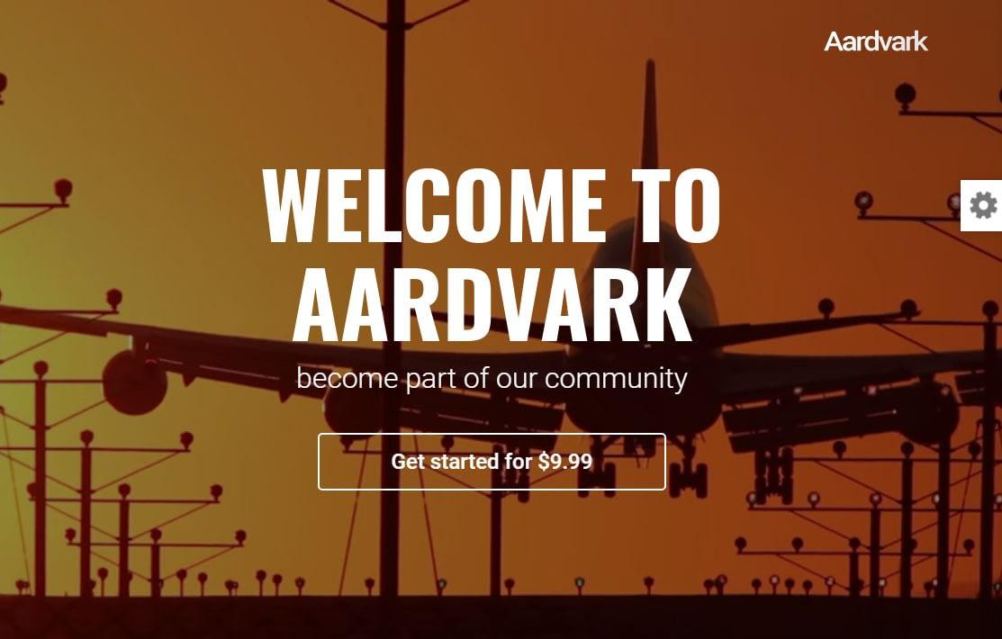 Aardvark WordPress Theme