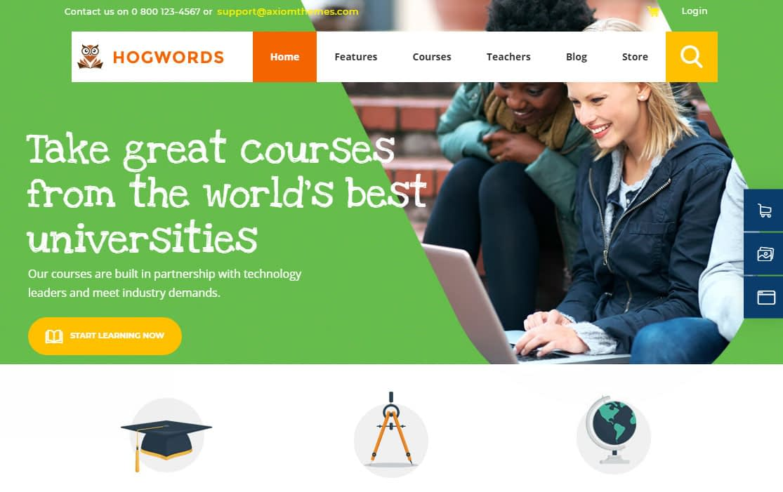 Hogwords WordPress Theme