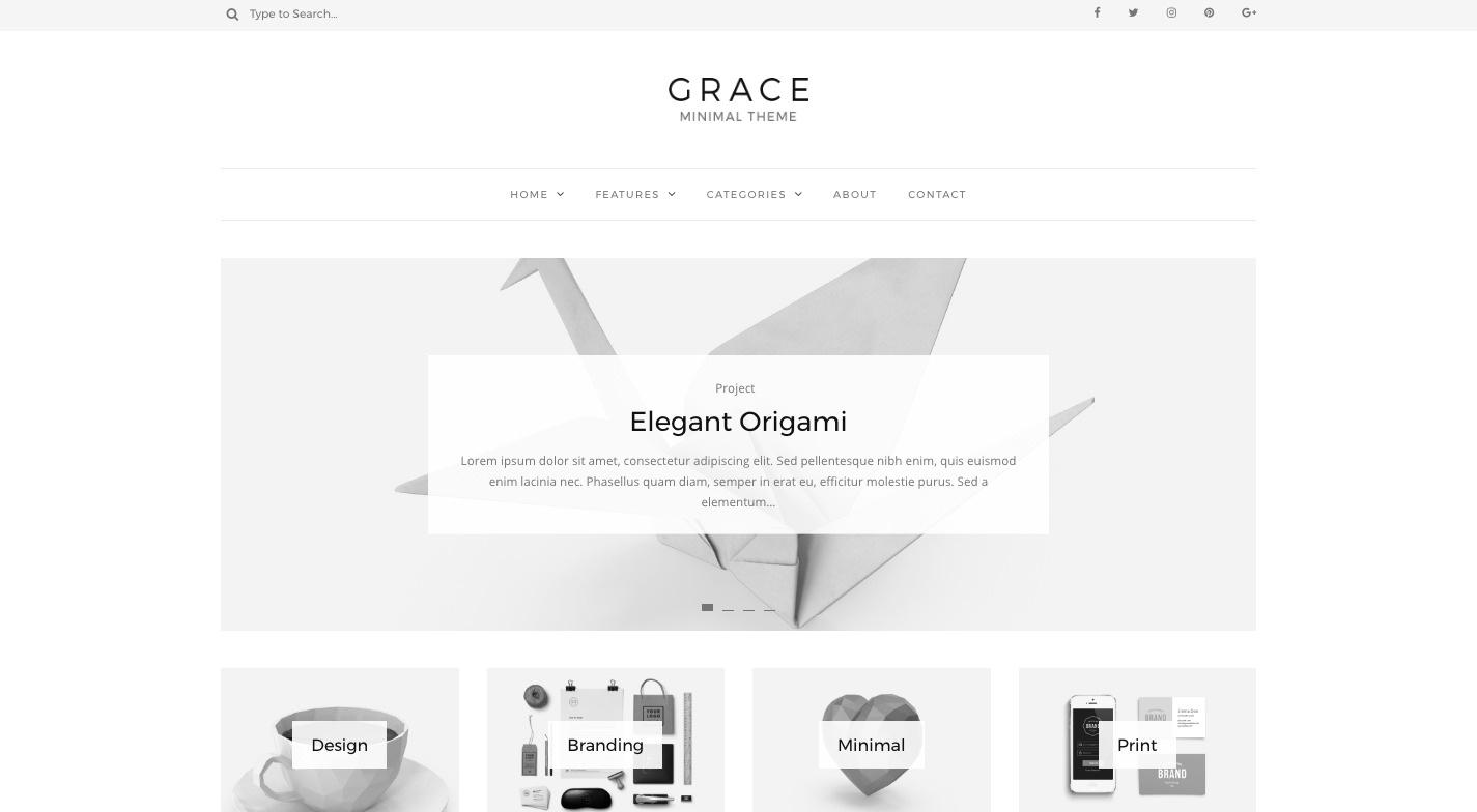 Grace WordPress Theme