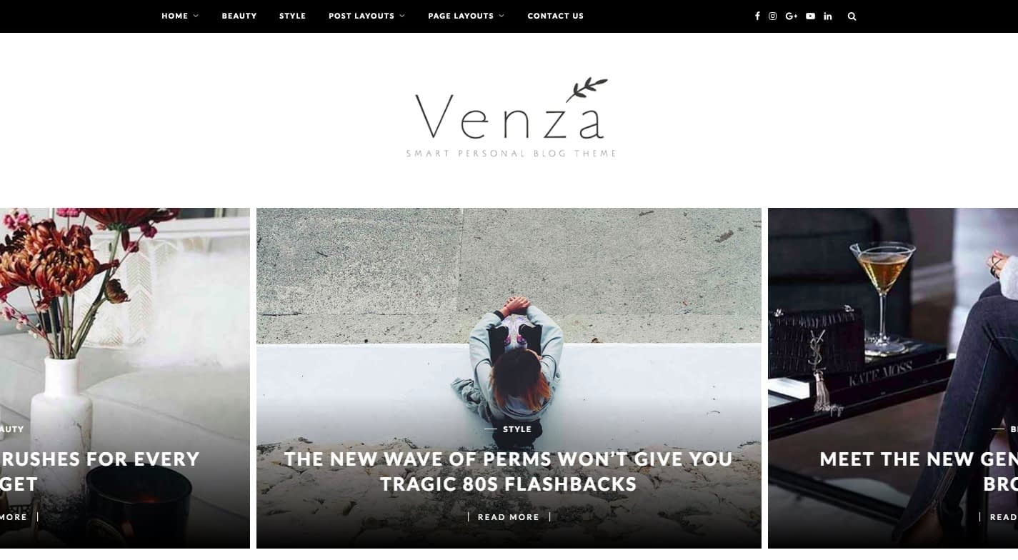 Venza WordPress Theme