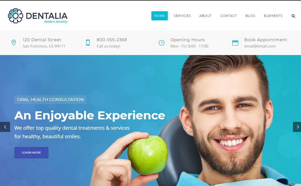 Dentalia WordPress Theme