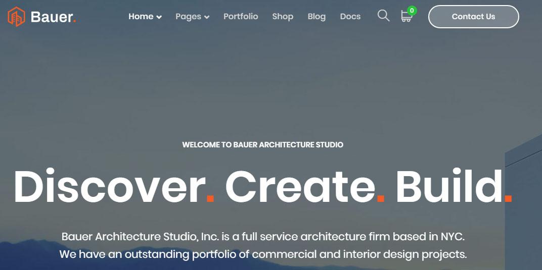 Bauer WordPress Theme