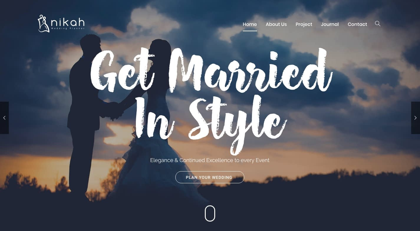 Nikah WordPress Theme