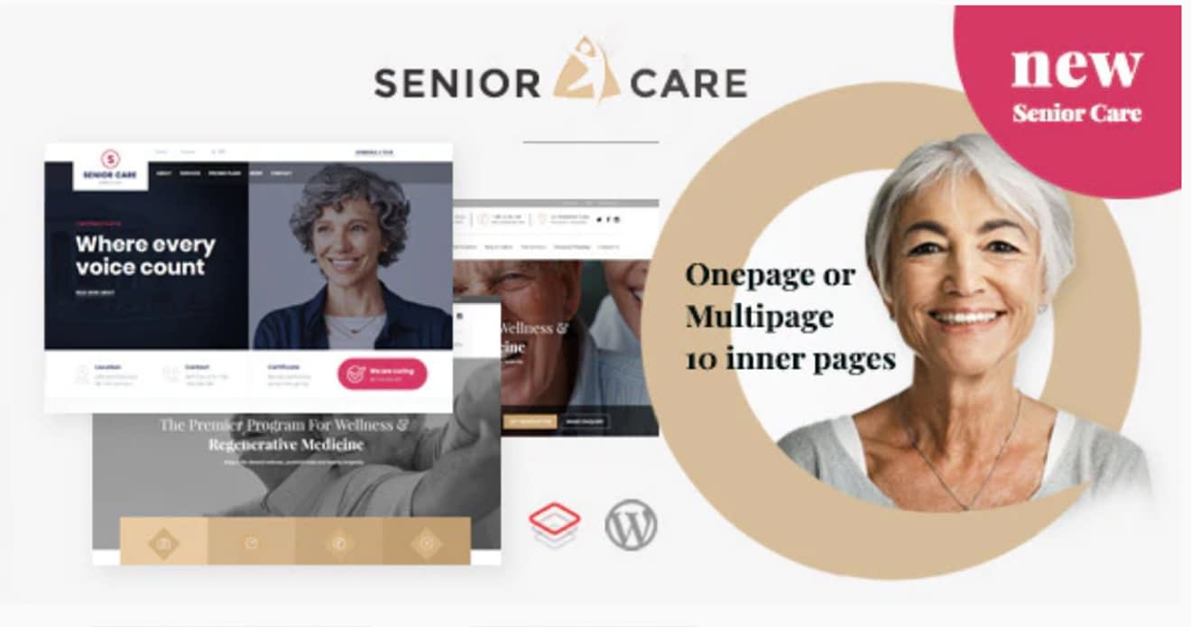 Senior WordPress Theme