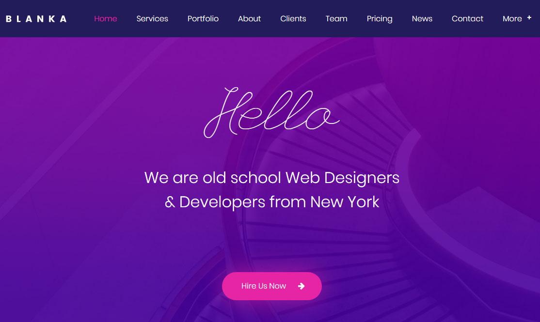 Blanka WordPress Theme