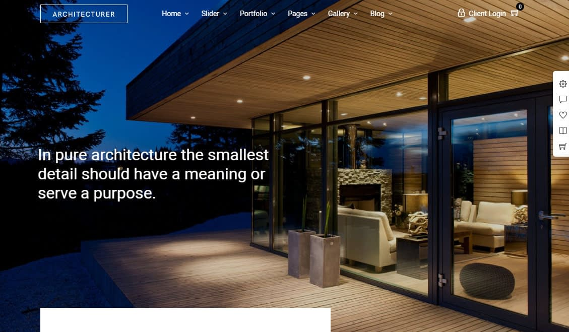 Architecturer WordPress Theme