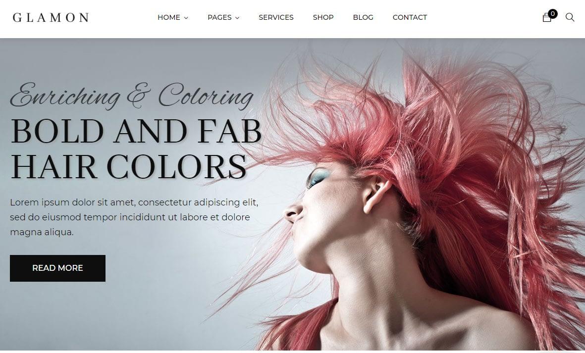 Glamon WordPress Theme