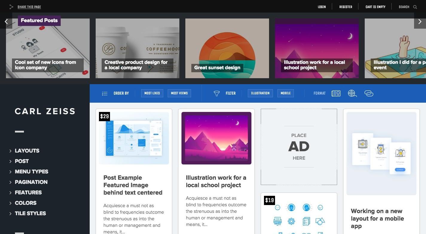 Sun WordPress Theme