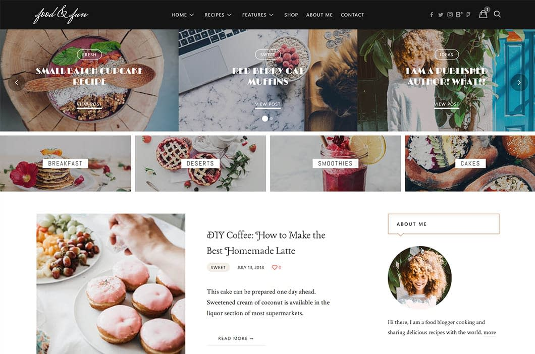 Lahanna WordPress Theme