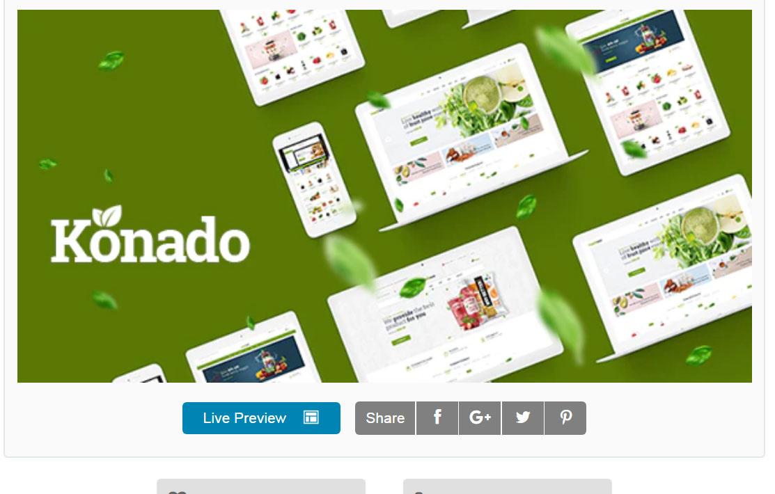 Konado WordPress Theme