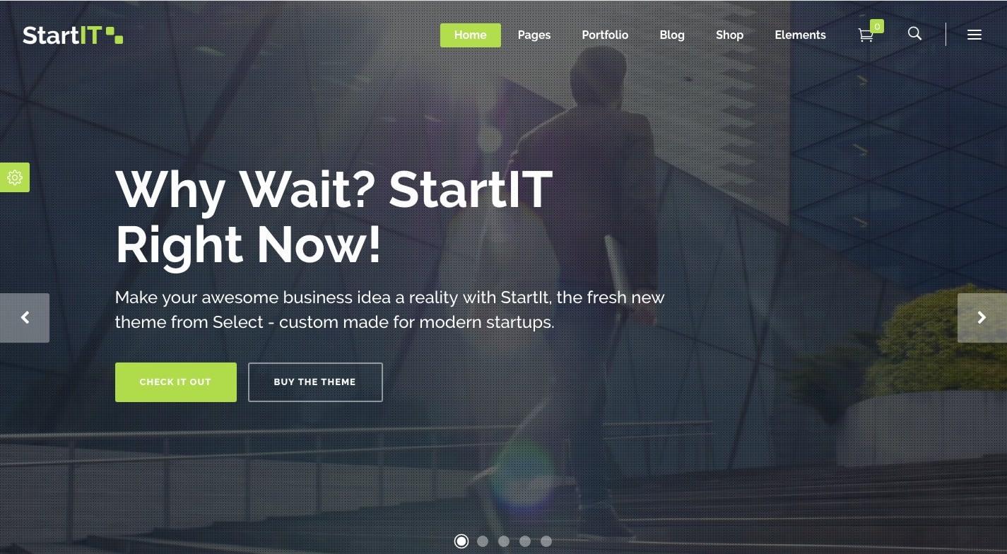 Startit WordPress Theme