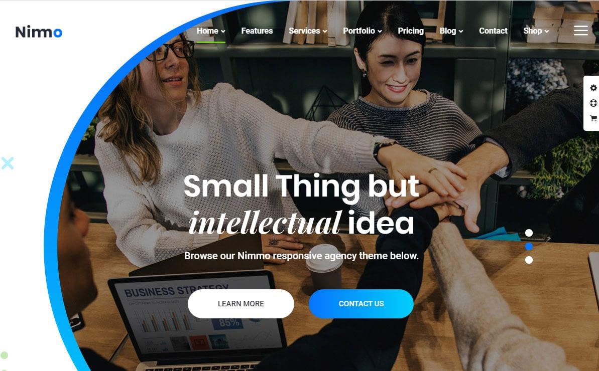 Nimmo WordPress Theme