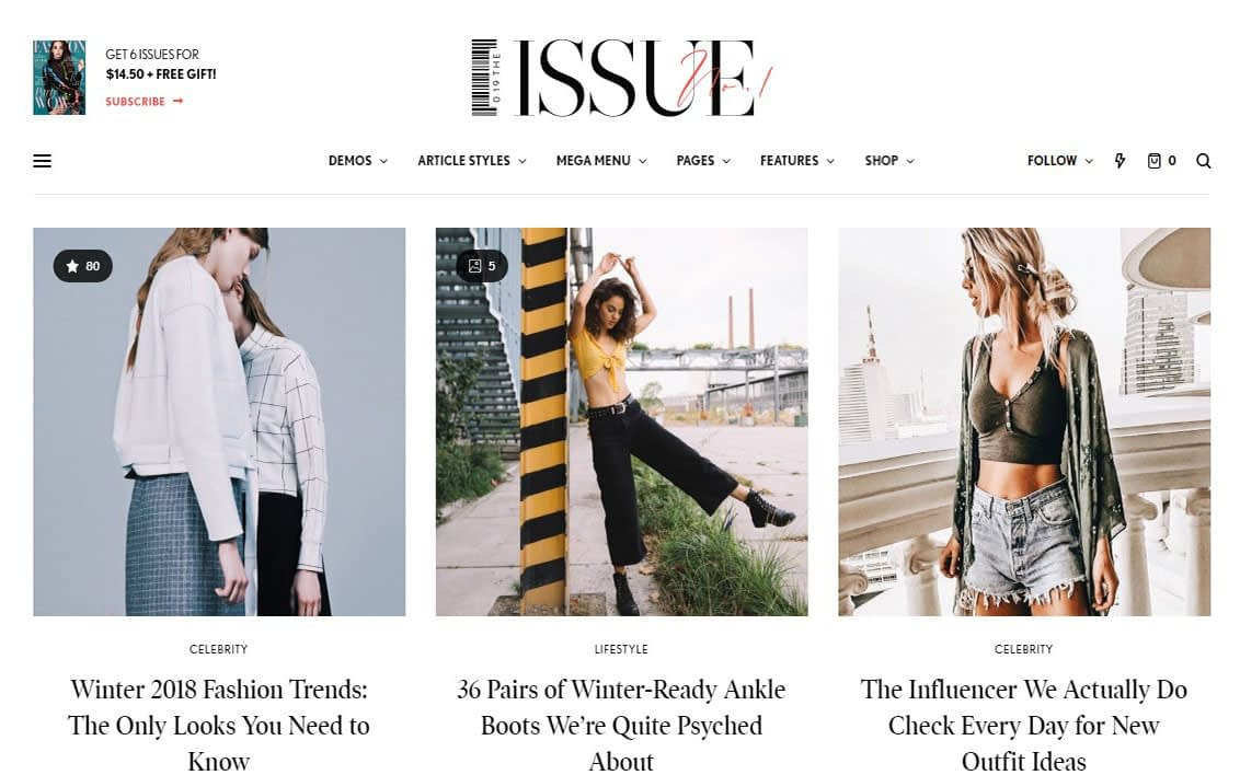 The Issue WordPress Theme